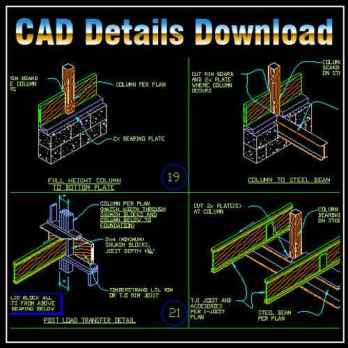 Framing Design Details,Frame Design Ideas,Building Details,CAD drawings downloadable in dwg files