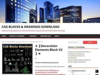Decoration Elements Block