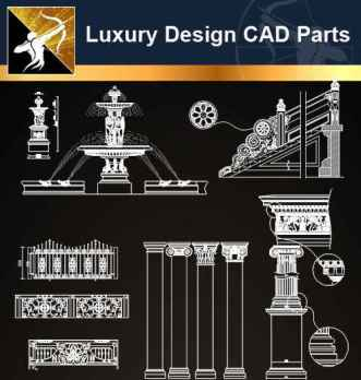A05 Luxury Design CAD Blocks 3