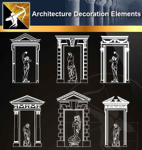 ★【 Architecture Decoration Elements V.1】