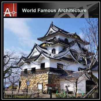 Hikone Castle Sketchup 3D model